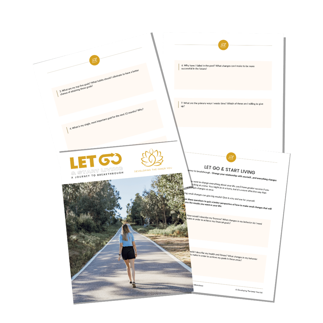 LetGo Breakthrough Worksheet